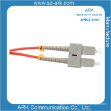 Sc-Sc Multimode Duplex Fiber Optic Cable / Patchcord